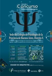 Concurso Provincial de Anteproyectos Sede Colegio de Psicólogos de la Provincia de Buenos Aires, Distrito X